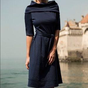 Shabby Apple funnel neck dress